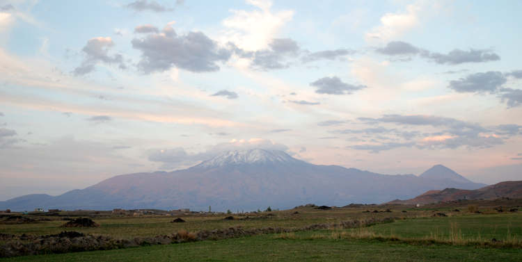 Mount Ararat in historic Western Armenia